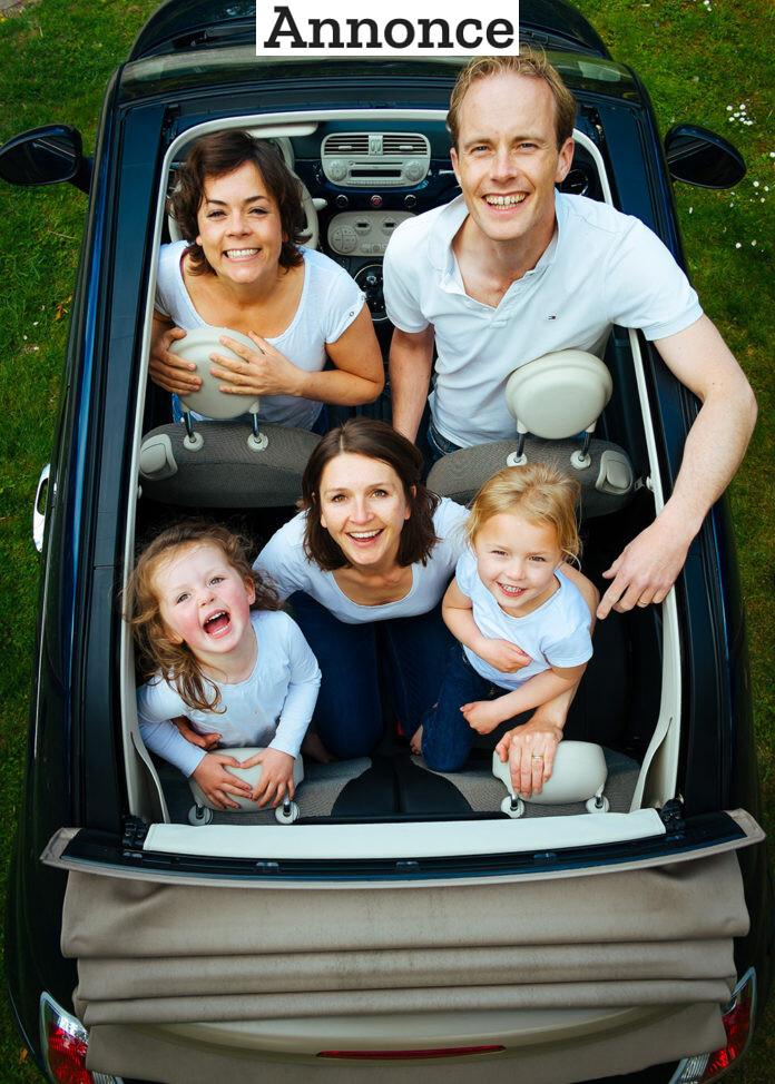 Børn i bilen